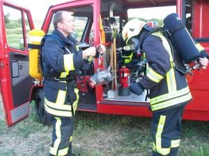 Übung: Gebäudebrand 2012